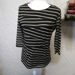 Dana Bushman long sleeve blouse. Large.